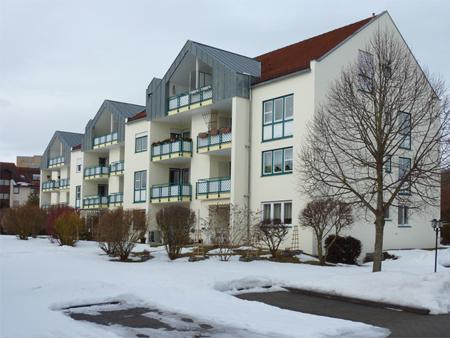 Fassadensanierung am Mehrfamilienhaus
